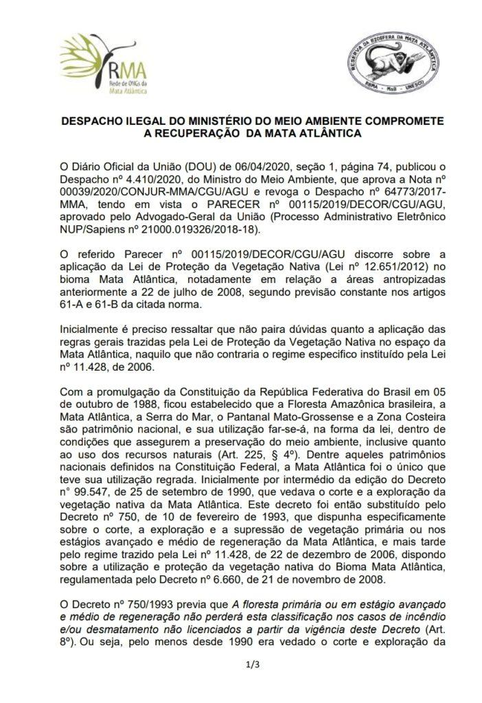 http://miraserra.org.br/wp-content/uploads/2020/04/Despacho_Ilegal_MMA_Compromete_Mata_Atl%C3%A2ntica_parecer_RMA_RBMA_17ab